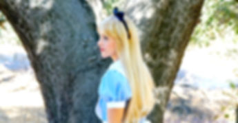 alice in wonderland party princess los angeles ventura county