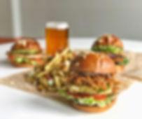 Burger, handcut fries & craft beer.
