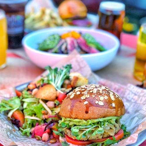 Earth Burger & Salad Pair-it