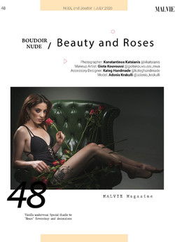MALVIE Mag - Nude & Boudoir Special Edit