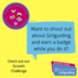Want to shout out about Girlguiding and