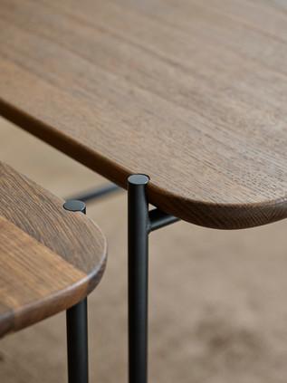 KONNO COFFEE- & SIDE TABLE_smoked oa