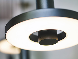 BEADS suspension, disc LED Orientable