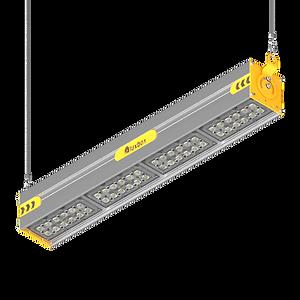 промышленный светодиодный светильник luxbox-u для цеха, склада, IP66