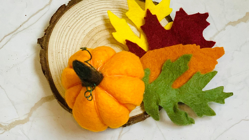 Autumn Pumpkin Table Decor