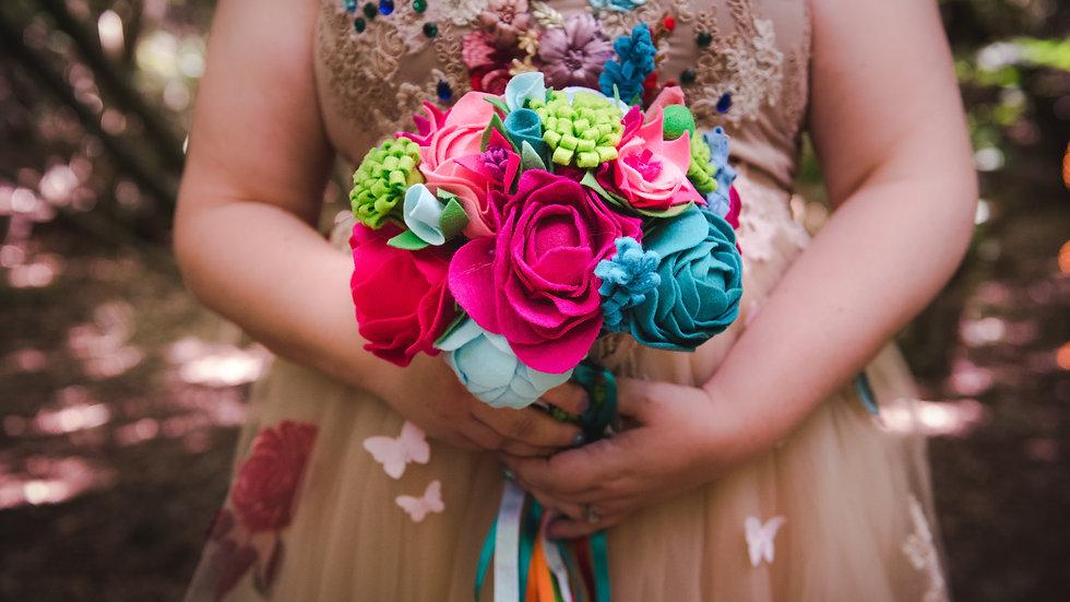 Custom Bridal Wedding Flowers