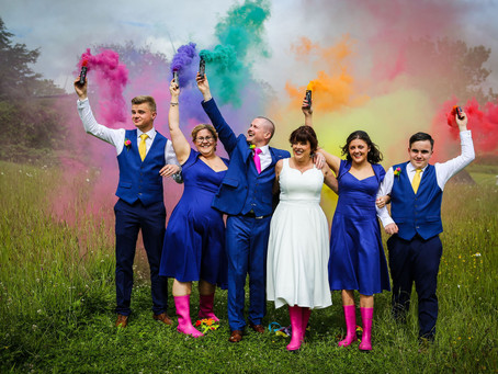 Claire and James' Mexican Fiesta Wedding!