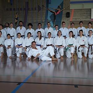 Trasferta a Ginevra, ospiti del Samourai Karaté Club Genève