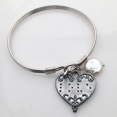 """Love"" Bangle Bracelet"