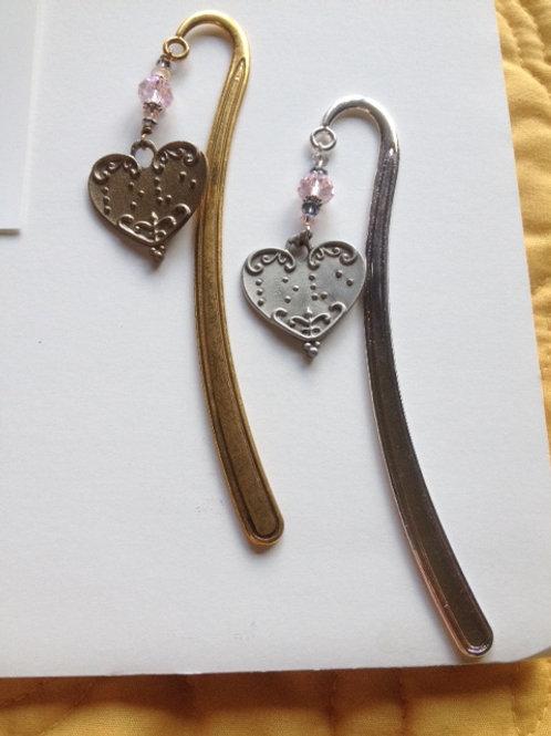 """Love"" Heart Bookmark"