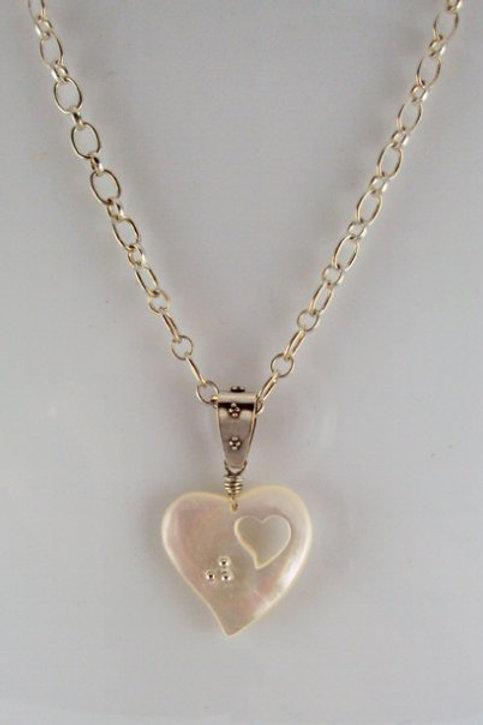"""J""ana's Heart Necklace"