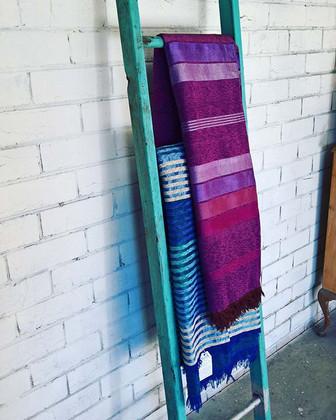 Sabra Silk Throws