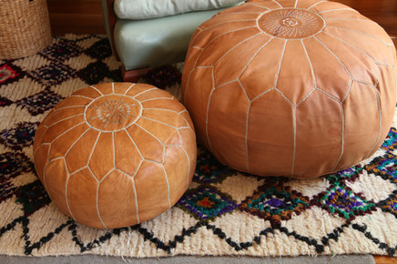 Small & Large Pouffes