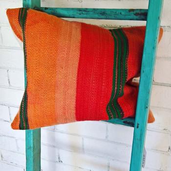 Woollen cushions