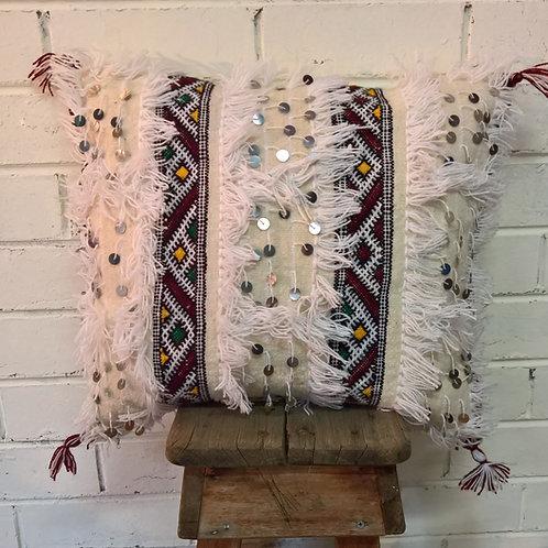 Handira Kilim with Sequins