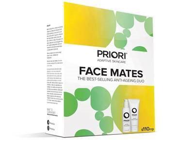 Priori - Face Mates Cleanser & Scrub Kit