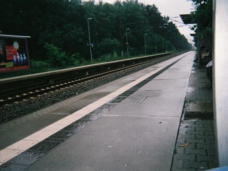 Der Zug ist sehr wichtig, wir können raus fahren und aktiv sein. Das ist sehr wichtig, aktiv sein können und kreativ!