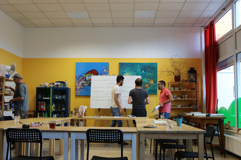Gemeinsames Brainstorming