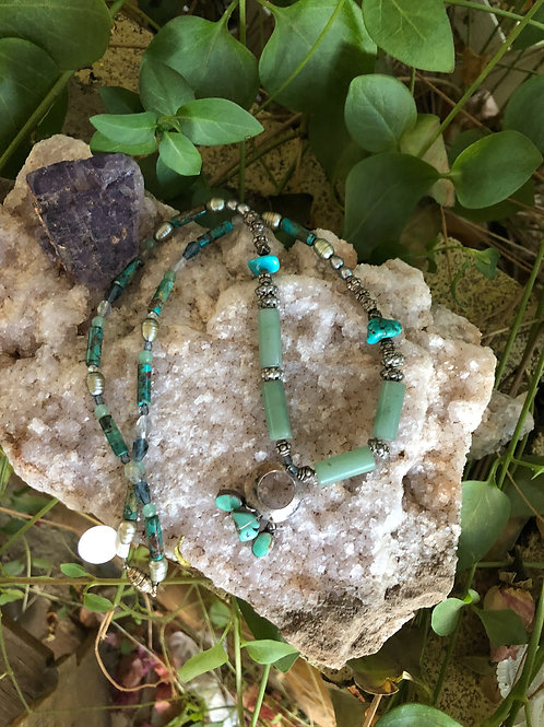 Jade & Turquoise Necklace