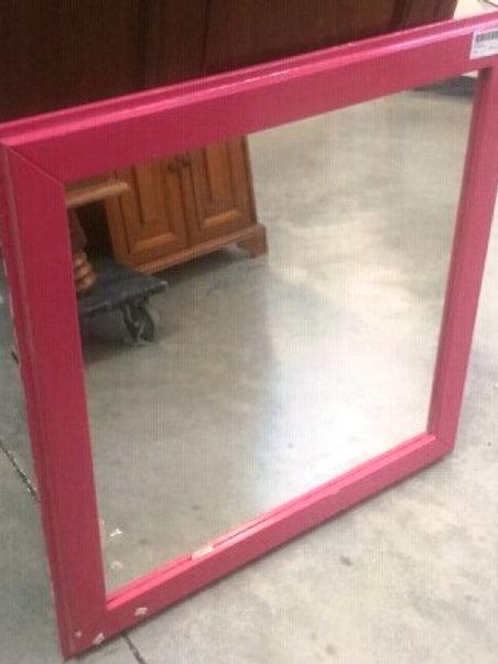 miroir avec cadrebois peint