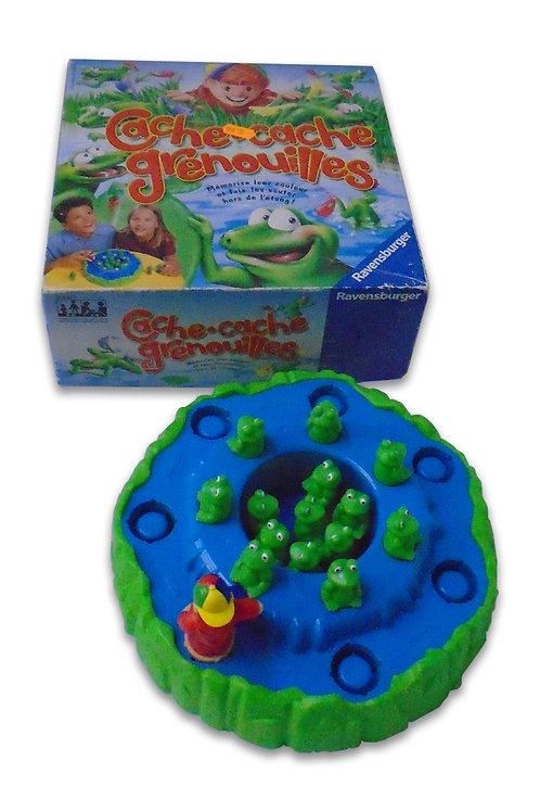 jeu cache cache grenouilles