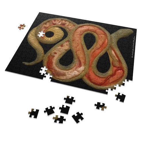 Anatomical Snake Puzzle