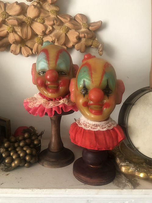 Happy Wax Clown