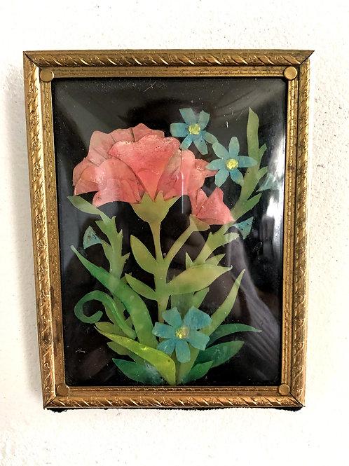 Mini Wax Flower Arrangement