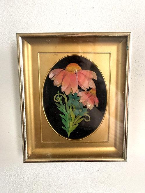 Miniature Wax Floral Bouquet