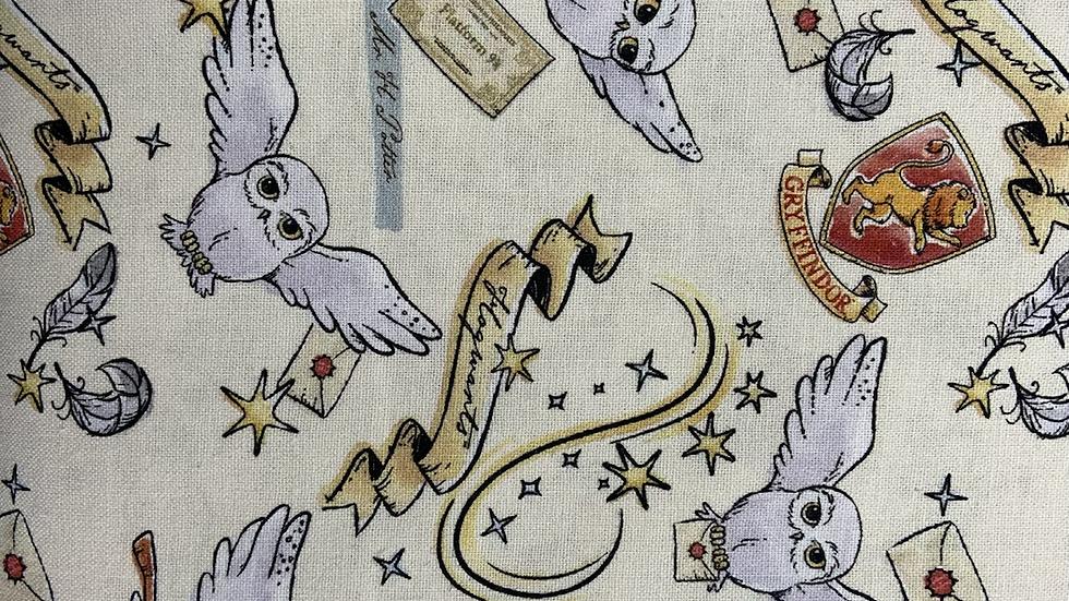 Harry Potter Gryffindor 100% Cotton Cream