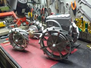 Vormontage Fahrwerk/                              pre-assembly chassis
