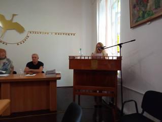 Вітаємо з захистом дисертації Анну Ніколаєву, асистента нашої кафедри!
