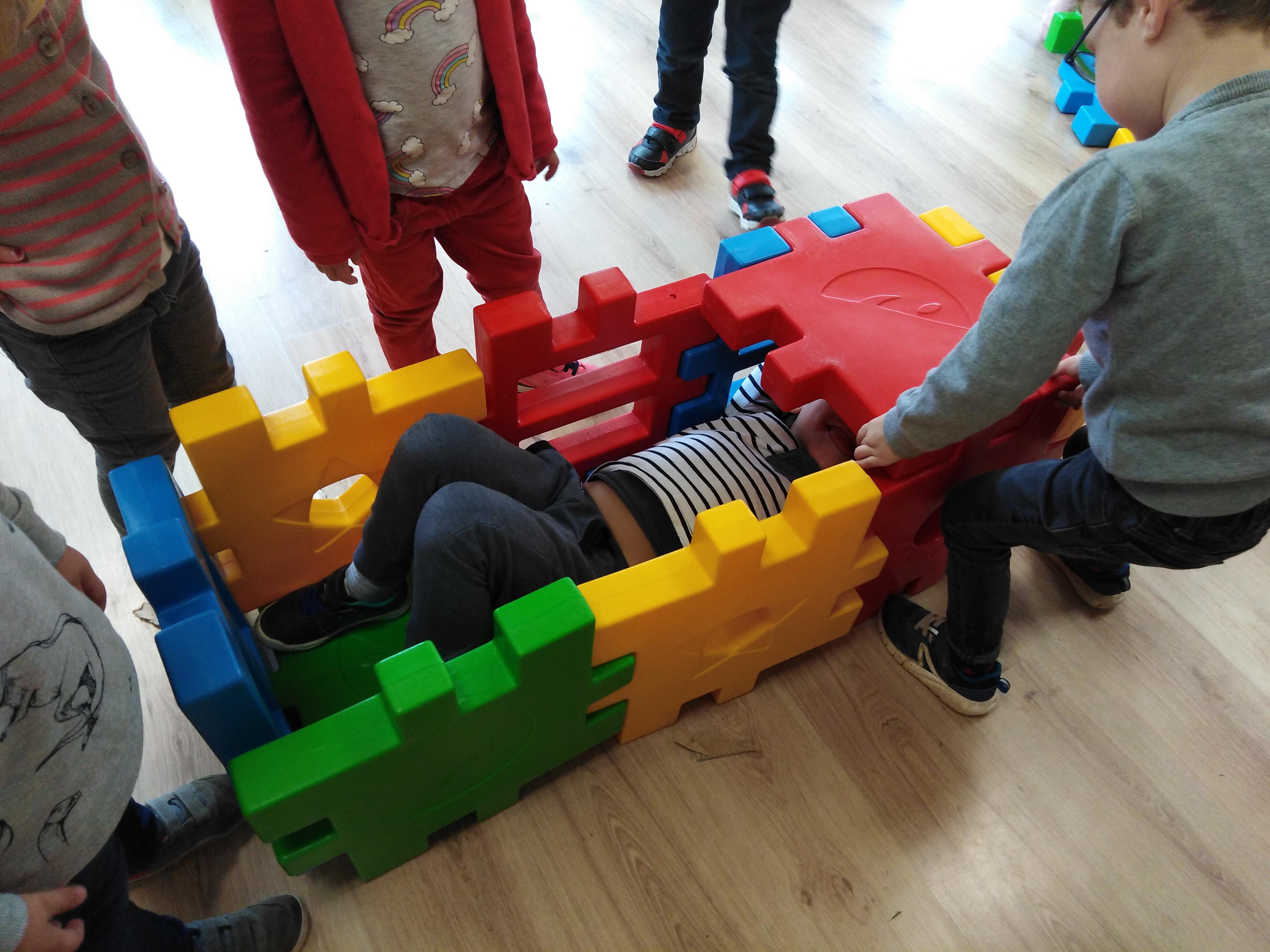 carrés de construction