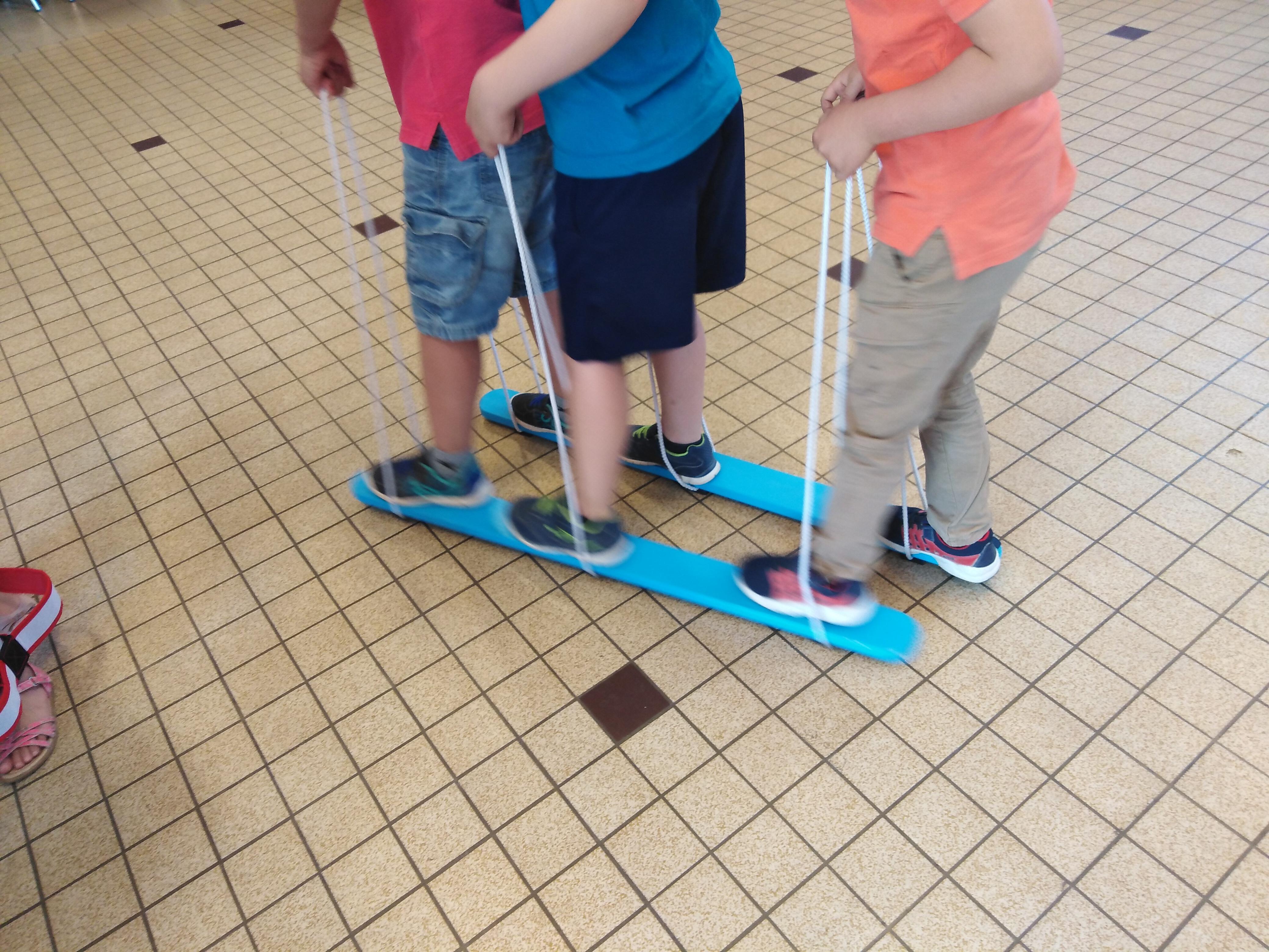 Skis de coordination à 3