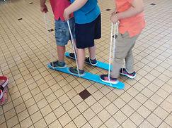 Skis de coordinations à 3