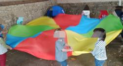 Parachute géant