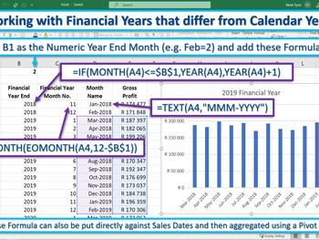 Excel Tip – How to handle Financial Years that are not Calendar Years