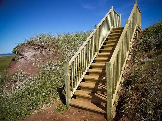 Escalier Île Boudreau