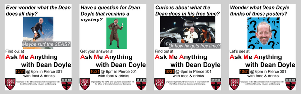 SEAS AMA with Dean Doyle Flyer, 2018