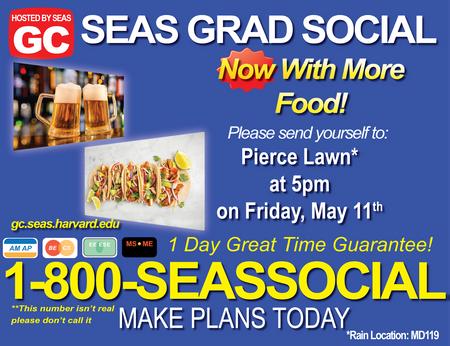 SEAS Social Flyer, 2018