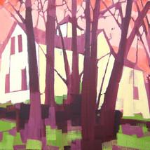 """2949 Eggers Ave – oil on canvas – 16"""" x 20"""""""