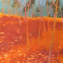 Edge – oil on canvas
