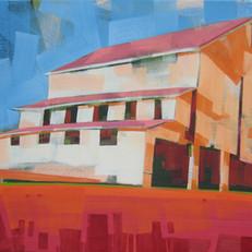 """Waynesville #1 – oil on canvas – 24"""" x 36"""" – $2,450"""