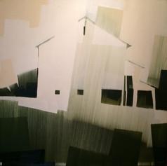 """Farmside Ohio – oil on canvas – 40"""" x 40"""""""