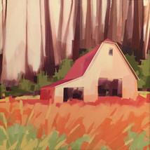 "Farm of Valle Crucis – oil on canvas – 34"" x 34"" – $3,350"