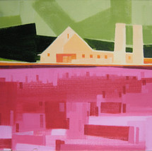 """The North Side of Ohio – oil on canvas – 16"""" x 20"""" – $875"""
