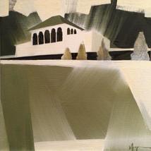"""Alms Park – oil on canvas – 12"""" x 12"""""""