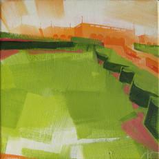 """Ault Park #3 – oil on canvas – 12"""" x 12"""""""