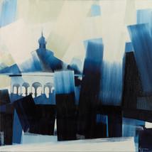 """Eden Park Gazebo – oil on canvas – 46"""" x 46"""" – $4,400"""
