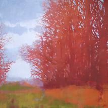 Irish Forest – oil on canvas